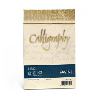 Buste Calligraphy Favini Lino Avorio 120 gr. mis.12x18 conf. 25 buste