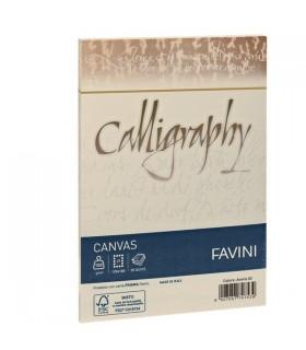 Buste Calligraphy Favini Canvas Avorio 100 gr. mis.12x18 conf. 25 buste