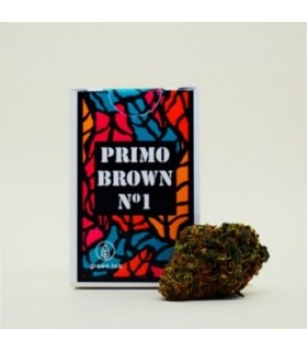 Infiorescenza di Canapa Sativa Green Lab Primo Brown N°1  scatolina 1 gr