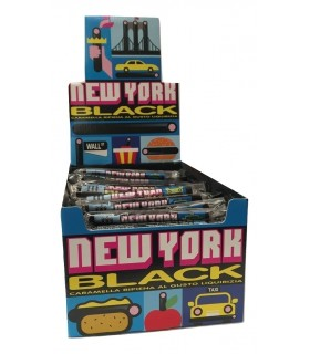 NEW YORK BLACK LIQUIRIZIA GELCO SFUSE CONF. DA 150 PZ.
