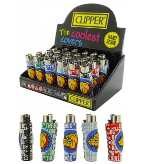 Clipper Gommati The Bulldog Fusion conf. 24 pz. assortito con 4 grafiche