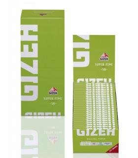 Cartina Gizeh Super fina Verde Corta conf. 50 pz.