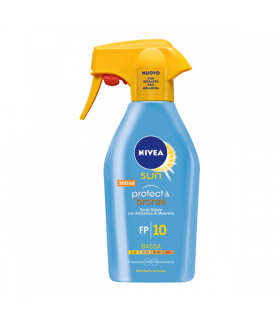 Spray Solare Nivea Sun FP + 10 Bassa da 300 ml