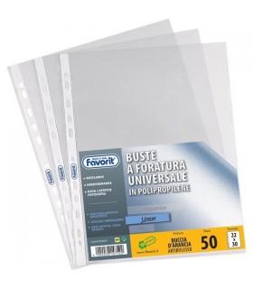 Buste Favorit foratura universale Buccia d'arancia Superior formato 22 x 30 conf. 50 pz.