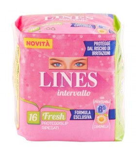 Lines Intervallo Proteggislip Fresh 16 pz.