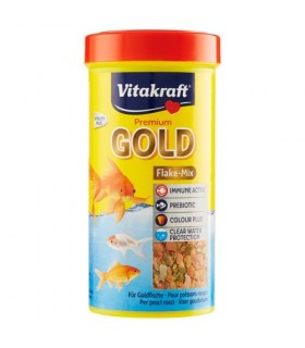 Mangime Vitakraft Gold Pesci Rossi 250 ml