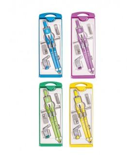 Balaustrone Aricci colorato Aste Snodate con accessori