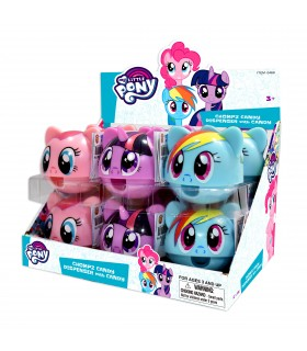 DISPENSER MY LITTLE PONY CON CARAMELLE 10 GR. EXPO 12 PZ.