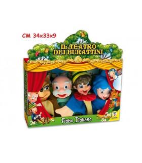 Teatrino delle Marionette Fiabe Italiane Pinocchio 4 pz.