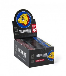 Cartina The Bulldog Black 1/4 + Filtro conf. 24 pz.