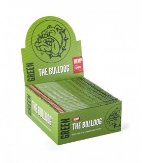 Cartina The Bulldog  Lunga KS Verde Canapa conf. 50 pz.