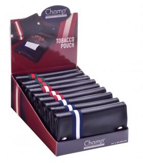 Busta Porta Tabacco Champ in Similpelle Expo 9 pz. colore nera