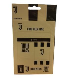 Etichette per Quaderni con Logo FC Juventus Mis.11x19 cm