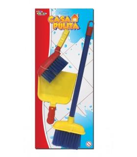 Set Pulizia con scopa e paletta