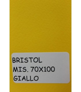 Bristol Favini misura 70X100 gr.200 giallo