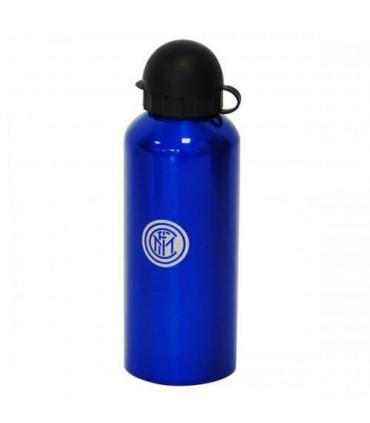 Borraccia in alluminio con logo ufficiale Inter