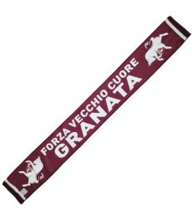 Sciarpa FC Torino in polipile con scritta