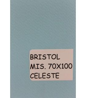 Bristol Favini misura 70X100 gr.200 celeste