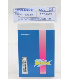 Blocco notes Blasetti Formato 8x12 rig. 5m conf. 10 pz.