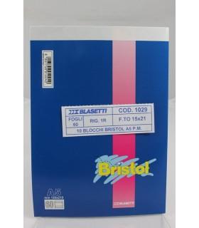 Blocco notes Blasetti Formato  15x21 rig. 1R  conf. 10 pz.