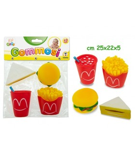 Gommosi Fast Food Blister 4 pz.