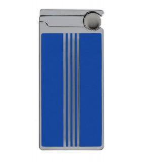 Accendino Elettronico Cozy Turbo Jetflame in Metallo colore Blu