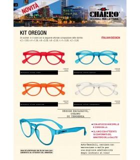 Occhiali da Lettura El Charro Kit Oregon Expo da 24 pz. assortiti con 4 colori
