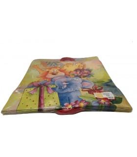 Buste carta manico in cordino misura 54X50 cm conf. 25 pz.