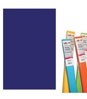 Carta crespa CWR gr.40 cm.250x50h colore Blu oltremare