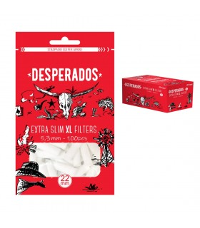 Filtri Desperados Extra Slim XL 5.3mm in Bustina conf. 30 pz.