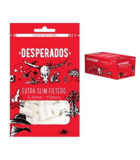 Filtri Desperados Extra Slim 5.3 mm in Bustina conf.30 pz.