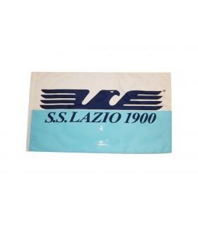 Bandiera SS Lazio con Aquila stilizzata mis. 50x70 cm