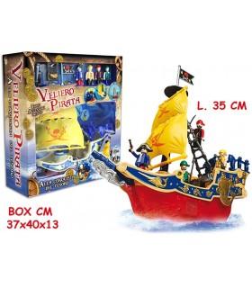 Veliero dei Pirati con Accessori L.37 cm