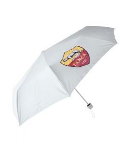 Ombrello Tascabile AS Roma colore Bianco