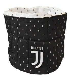 Porta Oggetti a Sacco in Tessuto imbottito Fc Juventus