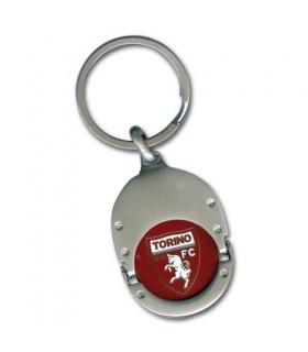 Portachiavi in Metallo con Sgancia Carrello Fc Torino