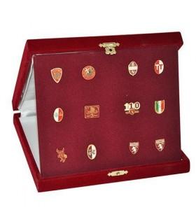 Elegante cofanetto Regalo Con Distintivi  Raffiguranti i loghi Fc Torino