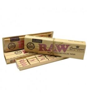 Cartina Raw Naturale Ks Slim con Filtri Prerollati conf. 24 pz.