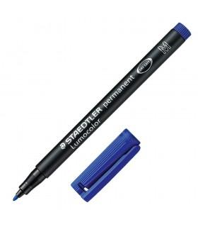 Pennarello Lumocolor M 1.0mm conf. da 10 pz. colore blu