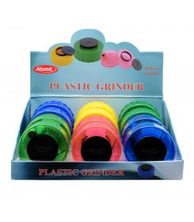 Grinder AtomicVacuum in Plastica Expo 12 pz. assortito con 6 colori