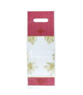 Buste Shoppers per Bottiglia Mod. Dioniso in Plastica Mis.15x44 cm conf. 50 pz.