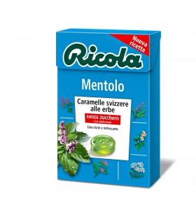 RICOLA MENTOLO SENZA ZUCCHERO ASTUCCIO CONF. 20 PZ.