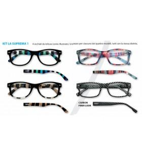 Ricarica Occhiali da Vista Zippo Mod.Suprema-1 da 4 pz. Diottria + 3.00
