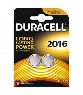 Pila Duracell a bottone  2016    conf. da 10 blister