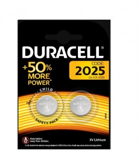 Pila Duracell a bottone  2025  conf. da 10 blister