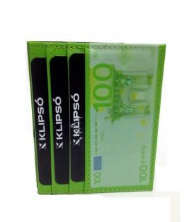 Portacarte/Banconote Klipsò Mod. 100 Euro