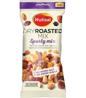 NUTISAL DRY ROASTED MIX SPORTY  60 G CONF. 14 PZ.