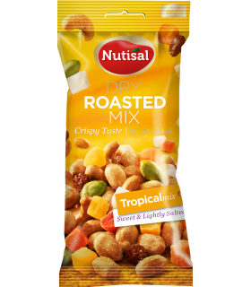 NUTISAL DRY ROASTED NUTS TROPICAL 60 G CONF. 14 PZ.