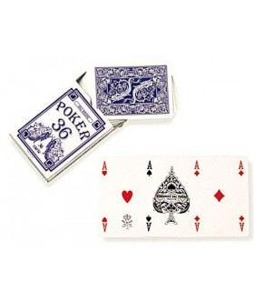 Carte Poker 36 Blu Dal Negro