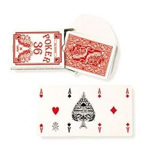Carte Poker 36 Rosso Dal Negro